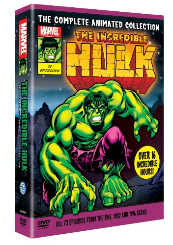 The Incredible Hulk: The Complete Animated Collection (Incredible Hulk Cartoon)