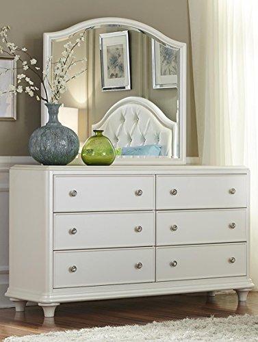 Liberty Furniture 710-BR30 Stardust 6-Drawer Dresser, 58