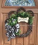 Dog Wreath, Wipe Your Paws Wreath, Dog Wreaths, Wipe your Paws, Paw Wreath, Wipe Your Paws Grapevine Wreath