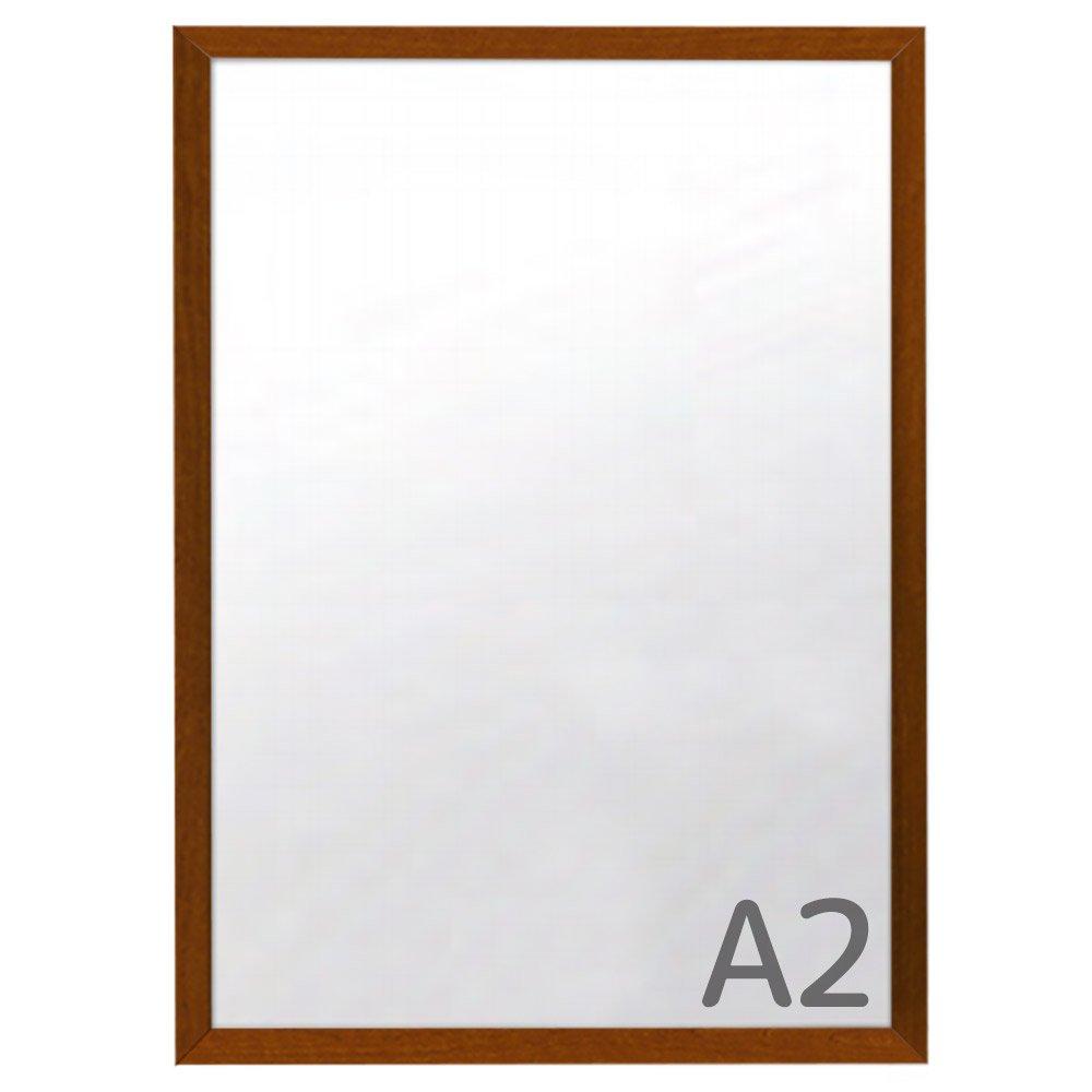 カスタムアルミフレーム ワイド30 A2サイズ【木目調】 W-388 フレームの幅が広いポスターパネル 豊富なサイズカラー   B07D98SNCQ