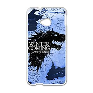 HGKDL Game Of Thrones Fashion Comstom Plastic case cover For HTC One M7