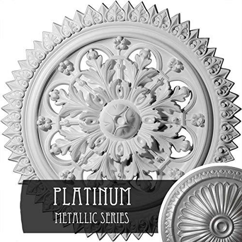 Ekena Millwork CM21YOPLS York Ceiling Medallion, 21-5/8