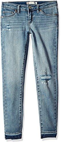 Levi's Big Girls' 710 Ankle Super Skinny Jean, Weathered Indigo, 14