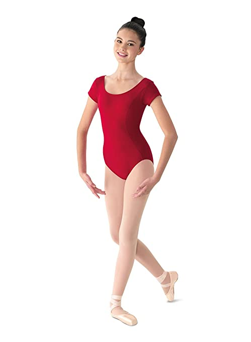 86a07f7b2 Bloch Mirella Women s Princess Seam Cap Sleeve Dance Leotard Garnet Small   Amazon.co.uk  Sports   Outdoors
