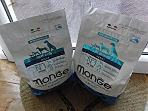 Monge – All Breeds Light Salmón Arroz 2.5 kg. Set N.2 bolsas