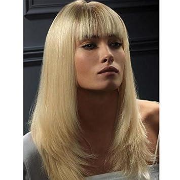 Amazoncom Kerry Grade 10a Blonde Brazilian Hair Lace Front Wigs