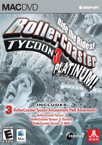 RollerCoaster Tycoon 3 Platinum [Mac Online Code]: Amazon co