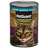 Pet Guard Savory Seafood Dinner, Food for Cats, 13.2-Ounce Cans (Pack of 12), My Pet Supplies