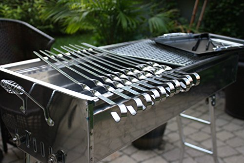 Eight24hours 20PCS BBQ GRILL MAT sheets, Reusable, Non-stick, Make Grilling Easy Cleaning + FREE E-Book by Eight24hours