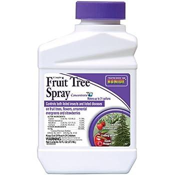 Bonide Products 202 Fruit Tree Spray 16 Ounce Garden Outdoor