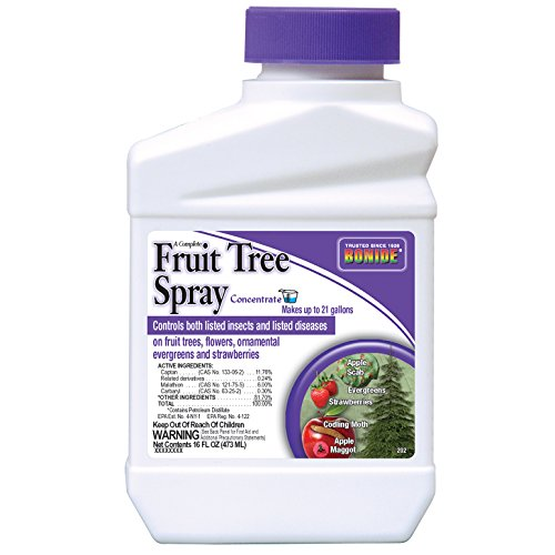 Bonide Products 202 Fruit Tree Spray, 16-Ounce - Fruit Tree Fertilizers