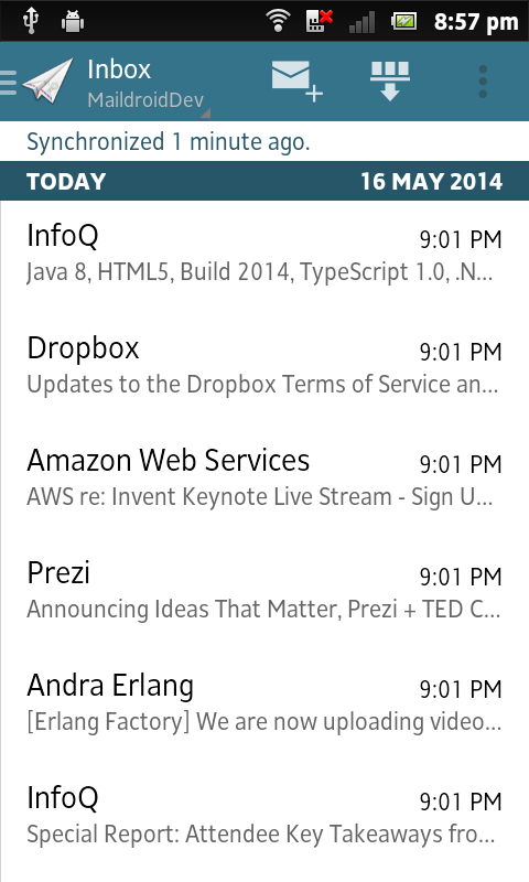 Amazon com: MailDroid Themes Plugin: Appstore for Android