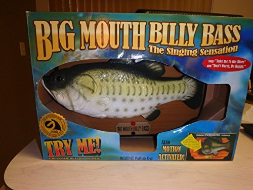 Big Mouth Billy Bass the Singing Sensation by Gemmy (Big Mouth Bass)