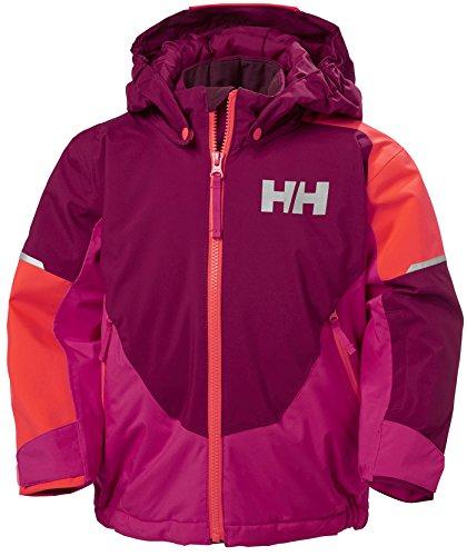 (Helly Hansen Kids Unisex Rider Insulated Jacket, 655 Plum, 4)
