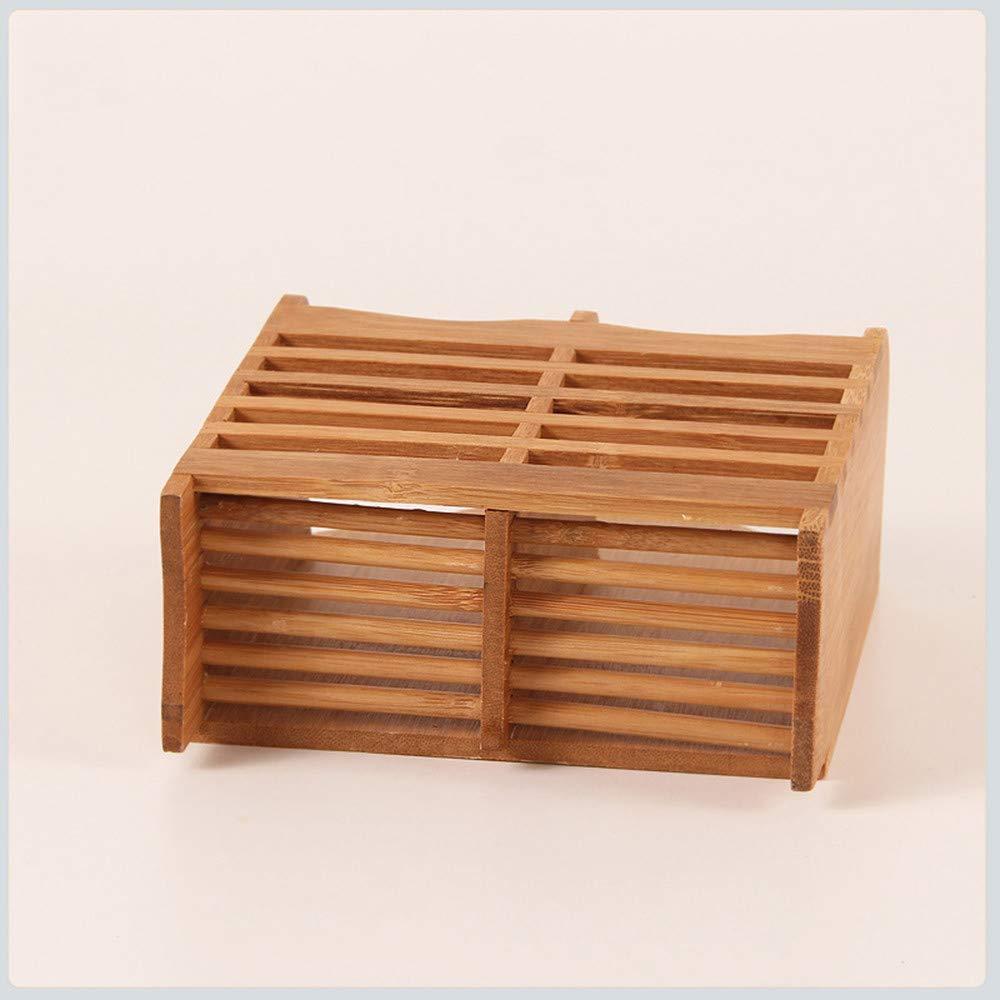 Bacchette Gaddrt Storage rack bamb/ù bacchette Cage multifunzione posate da cucina di scarico rack A