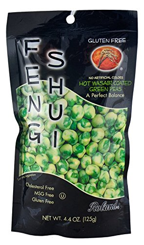 Roland Wasabi (Roland: Feng Shui Wasabi Peas 4.4 Oz (6 Pack))
