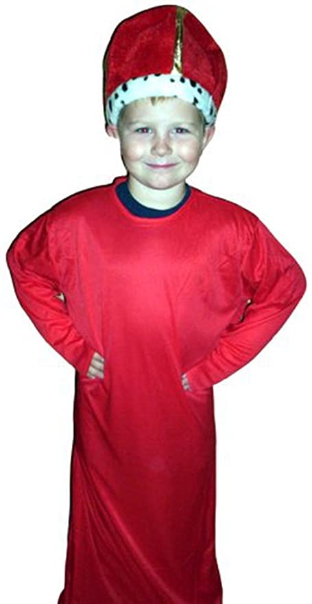 Amazon com: King Wiseman Red Costume Dress-up 11-14 by Bday