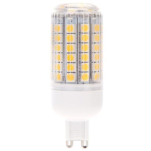TOOGOO(R)G9 15W 5050 SMD 69 LED Luz de Maiz Lampara Ahorro de