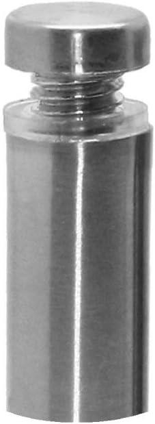 2.5 cm Abstandshalter Schilderbefestigung /Ø 12mm Schraubbar Wandabstandshalter Spiegelhalter Edelstahl Distanzbolzen Schildhalter Variante:1 St/ück