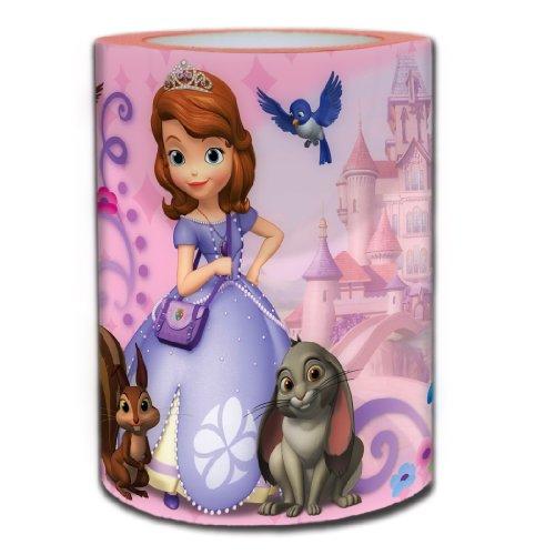 Disney Sofia The First Loving Princess Square Flameless Candle
