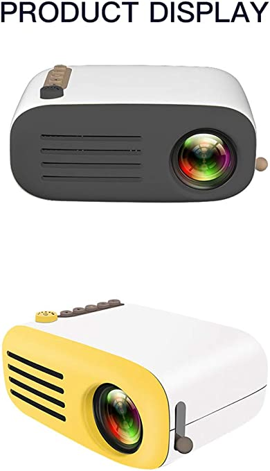 JUZEN Mini Home Theater HD proyector, LED de Soporte 1080P, 600 lúmenes, Compatible con U Disk, Disco Duro móvil, Tarjeta SD, computadora de conexión HDMI, AV con DVD, TV Box: Amazon.es: Deportes