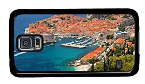 Hipster Samsung Galaxy S5 Case on sale cases Croatia Dubrovnik PC Black for Samsung S5