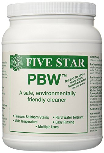 Five Star PBW Cleaner (Powdered Brewery Wash), 4-Pound Jar ()