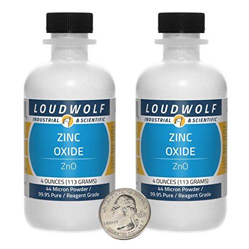 Zinc Oxide / Fine Powder / 8 Ounces / 99.9% Pure / SHIPS FAST FROM USA