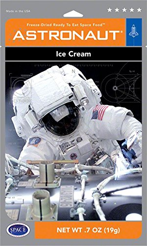 - Backpacker's Pantry Astronaut Freeze Dried Neapolitan Ice Cream, One Serving Pouch
