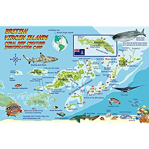 map of caribbean islands amazoncom
