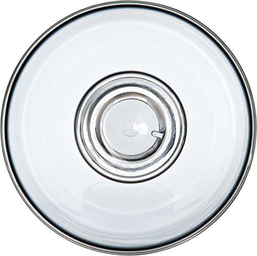 Epicure Footed Serving Bowl, 26 oz, Tritan, Smoke by Carlisle (Image #1)