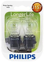 Philips 3157LLB2 LongerLife Mini Bulb