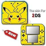 Pokemon Pikachu Popular New SKIN VINYL STICKER DECAL COVER for Nintendo 2DS