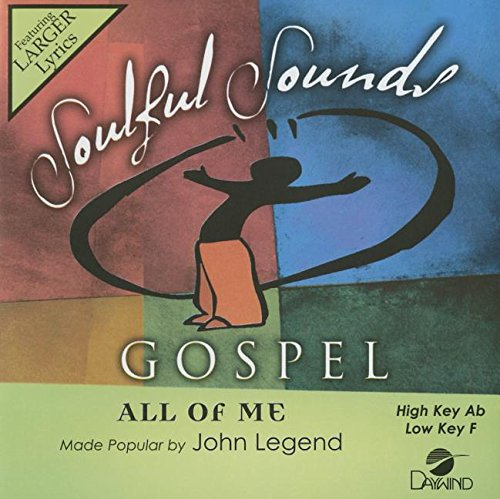All Of Me [Accompaniment/Performance Track] (Daywind Soundtracks Contemporary)