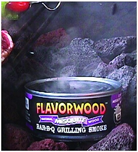 Grilling Smoke - Reusable Flavorwood BBQ Grill Smoke in a Can (12 Can Value Pack - Hickory) - Easily Infuse Natural Wood Flavor by Camerons Products