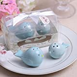Feathering The Nest Ceramic Birds Salt and Pepper Shakers For Wedding Favors, Set of 100
