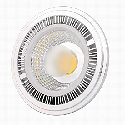 Ucland AC 85-265V 7W 4000K GU10 2P Recessed COB LED Bulb High Head Ceiling Lamp AR111