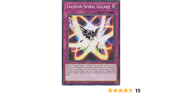 Tachyon Spiral Galaxy Yugioh 3x CHIM-EN073 1st Edition Common