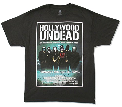 Hollywood Undead Humanity Has Lost All Hope Black T Shirt (2X) -