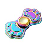 Fidget Spinner UCLL Cute Cat Dog Claw Hand Spinning Toy EDC Focus Stress Reducer Toy Perfect for Girl