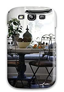 AXdsQSr6413igcVg Tpu Phone Case With Fashionable Look For Galaxy S3 - Window Bay Becomes Charming Breakfast Nook
