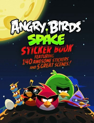 angry birds space sticker book - 3