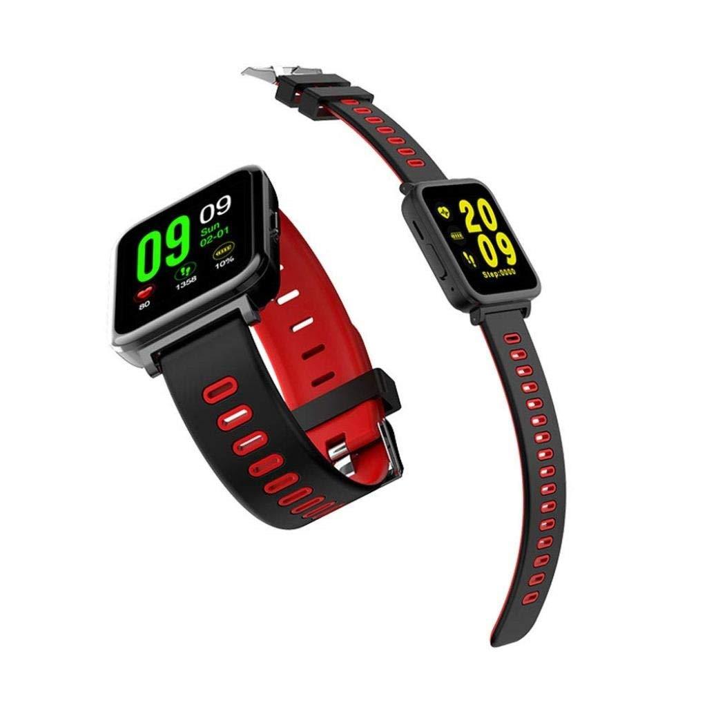 活動トラッカースマートブレスレット多機能心拍数血圧カメラのbluetooth防水スポーツウォッチ B07QK6B9P8