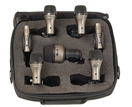 8 Piece Drum Mic (CAD Pro-7 7-Piece Drum Microphone)