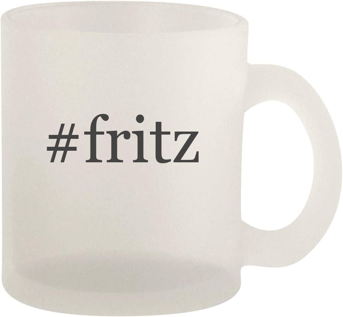 #fritz - Glass 10oz Frosted Coffee Mug 51v2BdlqjJOL