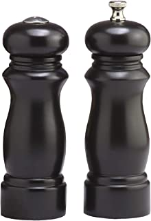 product image for Salem Pepper Mill and Salt Shaker Set Finish: Ebony
