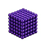216 PCS 5mm Magic Iron Puzzle Cube Magnetic Balls Puzzle Magnet Block Desk Hunting Ammo, Intelligence develop and Stress Relief, Stress Ball