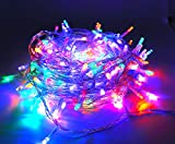 200LEDs Christmas String Lights LED Fairy String Lights Vilaka UL588 Approved Plug in 22M/72FT 8 Flash Modes Waterproof Indoor Christmas Tree Wedding Party Garden Bedroom Wall Decoration - Multi Color
