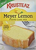 Krusteaz, Meyer Lemon Pound Cake Mix, 16.5oz Box (Pack of 2)