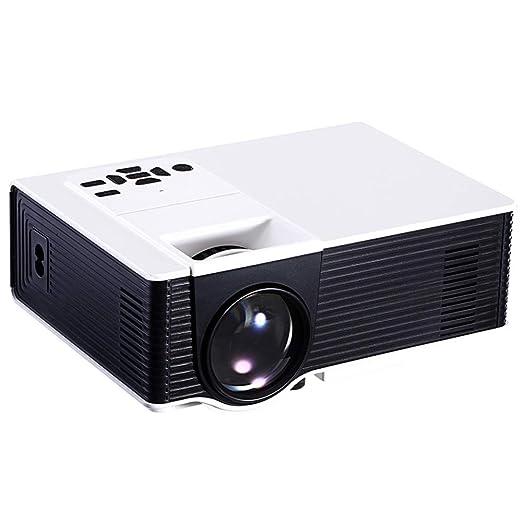 CZWNB Home Theater proyector Mini proyección HD reproducción ...